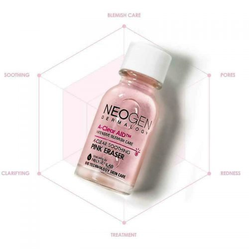 Cham-mun-neogen-A-Clear-Soothing-pink-eraser-trangstore-15ml