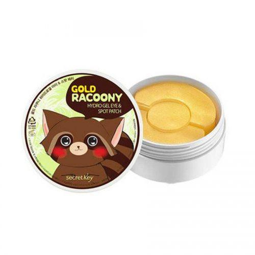 mat-na-duong-mat-va-tri-mun-secret-key-gold-racoony-hydro-gel-eye-&-spot-patch-trangstore