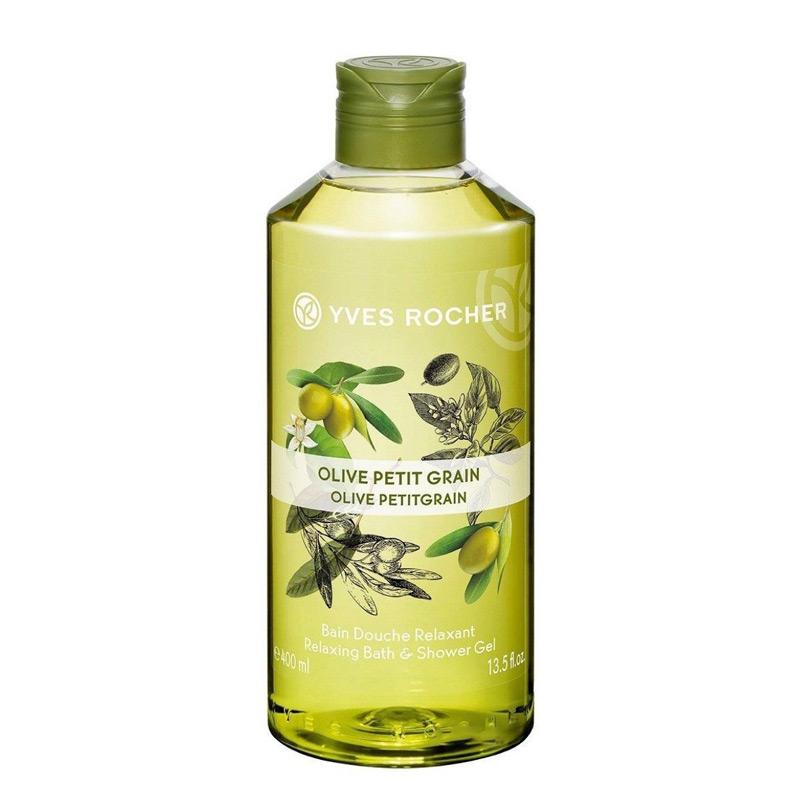 gel-tam-Yves-Rocher-Olive-Petit-Grain-Shower-Gel-200ml-trangstore